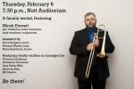 Everett February 6 Recital Poster