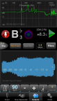 TonalEnergy Tuner: Waveform