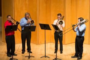 Willamette Trombone Quartet, Alessi Seminar 2015