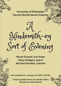 Everett Recital Poster 20180108