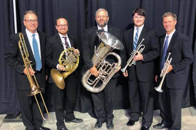 Mississippi Brass Quintet 201808
