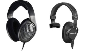 two headsets